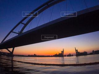 地元の夕陽スポットの写真・画像素材[1269578]