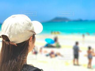 オアフ島 カイルアビーチ 初訪問の写真・画像素材[1316865]