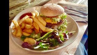 ハンバーガーの写真・画像素材[416433]