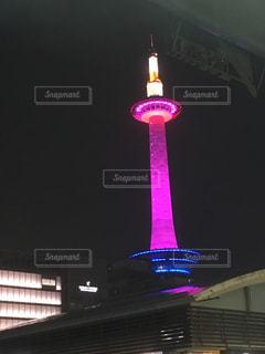 夜景,京都,観光,タワー,イルミネーション,京都駅