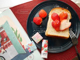 食べ物,朝食,デザート,果物,ハート,朝,朝ごはん,朝ごパン,#テーブルスタイリング