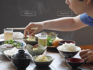 倉敷で食堂ランチの写真・画像素材[1768155]