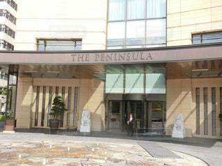 ペニンシュラホテル東京の入り口 - No.694692