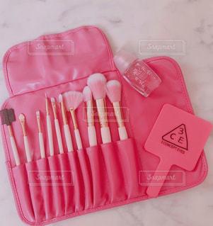 ピンク,香水,ミラー,コスメ,メイクブラシ
