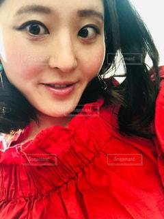お気に入り韓国ファッションの写真・画像素材[2189058]