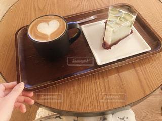 カフェにて休憩の写真・画像素材[2299618]