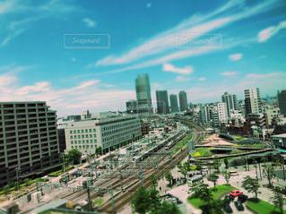 大都市の風景の写真・画像素材[1368618]