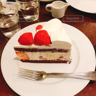 ケーキ,いちご,お茶,チョコ,デート,ショートケーキ