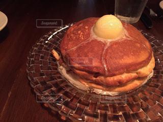 ケーキ,パンケーキ,ふわふわ,おしゃべり,ホットケーキ,ホイップバター