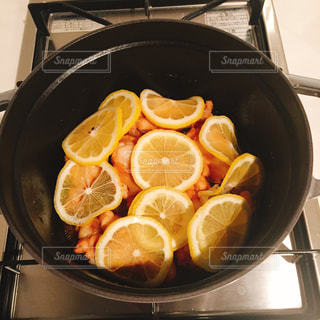おうちごはん,フルーツ,レモン,チキン