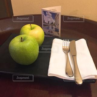 フルーツ,りんご,ホテル,青りんご,ウェルカムフルーツ