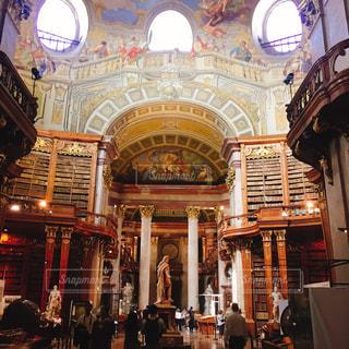 本,図書館,オーストリア,ウィーン,海外旅行,オーストリア国立図書館,プルンクザール
