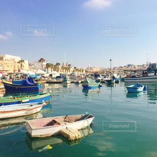 カラフル,イタリア,海外旅行,マルタ島,漁村,マルサシュロック