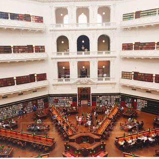 図書館,オーストラリア,海外旅行,メルボルン,ビクトリア州立図書館