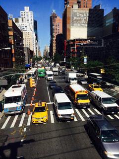 ニューヨーク,車,アメリカ,NY,マンハッタン,海外旅行,イエローキャブ