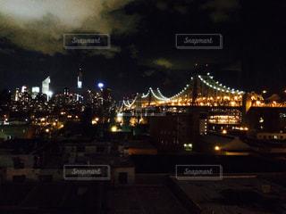 夜景,ニューヨーク,アメリカ,NY,海外旅行,クイーンズ