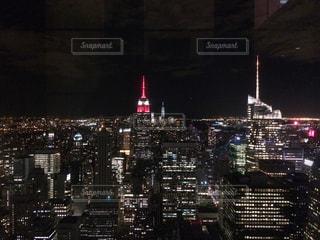 夜景,ニューヨーク,アメリカ,NY,マンハッタン,海外旅行,摩天楼