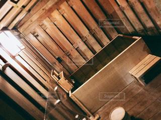 木製ベンチの写真・画像素材[792182]