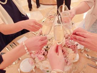 happy wedding!cheers!の写真・画像素材[796353]