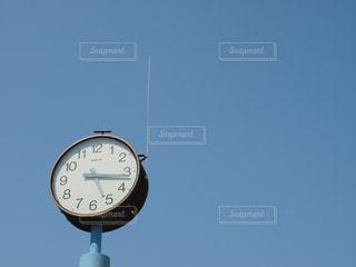 空,青空,晴天,時計,レトロ,タイム,時