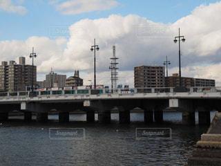 橋,路面電車,川,広島,御幸橋