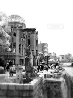 広島の群像の写真・画像素材[833671]
