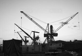 呉港の造船所の写真・画像素材[1234022]