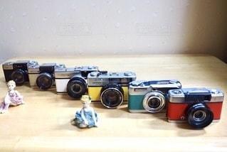 1960年代のカメラの写真・画像素材[3379802]