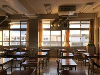 教室の写真・画像素材[995658]