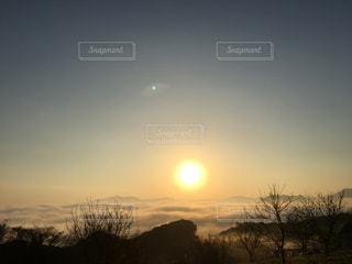 朝日,雲海,日の出,長崎,大村湾