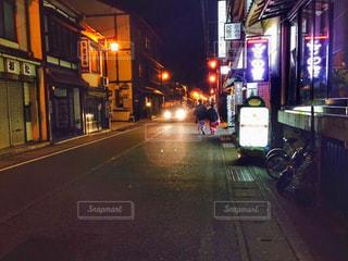 夜の街の景色の写真・画像素材[753628]