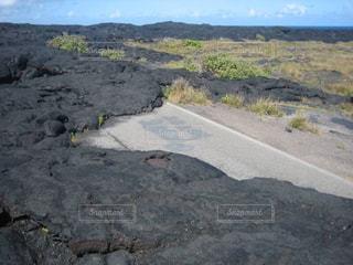 アメリカ ハワイ島溶岩