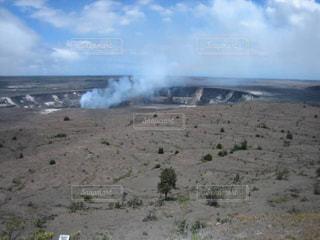 ハワイ島 噴煙