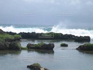 グアム島 自然のプール