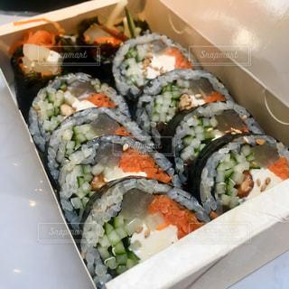 旅行,韓国,海外旅行,韓国料理,ソウル,韓国旅行,のり巻き,キンパ,クリームチーズ,キム先生,キムパブ