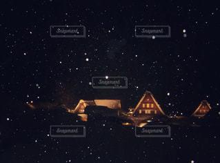 白川郷の夜の写真・画像素材[1777201]