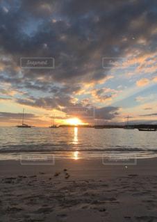 海,夕日,beach,sunset,ニューカレドニア,sea,NewCaledonia