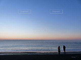 夜明け前の写真・画像素材[1217187]