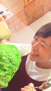夏,緑,抹茶,おいしい,かき氷,下北沢,冷たい,Green,カキ氷,しもきた茶苑大山