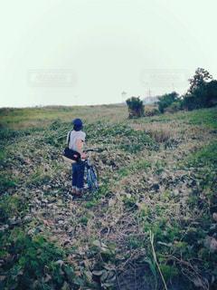 自転車の写真・画像素材[424130]