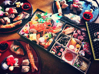 食べ物,フード,おせち,正月,日本,料理,和食,おいしい,お祝い,元旦,テーブルフォト,新年,伝統,お節料理,お重,お節,フォトジェニック,家族団らん