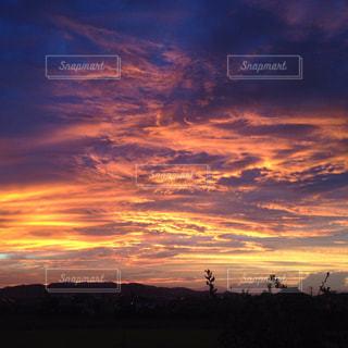 夕焼け空の写真・画像素材[955889]