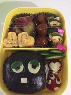 お弁当,ハート,キャラ弁,お昼,玉子焼き