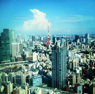 東京タワーの写真・画像素材[569017]
