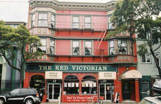 建物,屋外,赤,アメリカ,観光,旅行,暖かい,サンフランシスコ,のんびり,国際