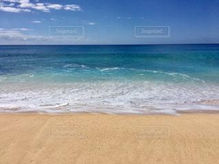 ハワイの空と海と雲の写真・画像素材[1123803]