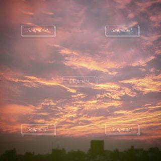 夕焼け空,夕雲,私の住んでる街