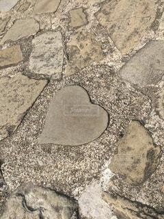 石畳,長崎県,グラバー園,ハートの石