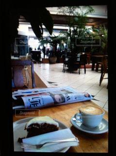 カフェ,コーヒー,キャロットケーキ,ニュージーランド,オリーブツリー