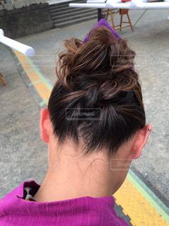 髪型の写真・画像素材[413102]